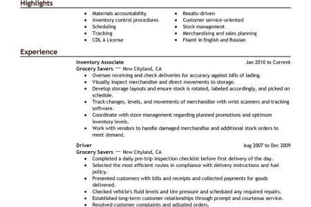 Forklift Operator Resume Example Production Sample Resumes ...