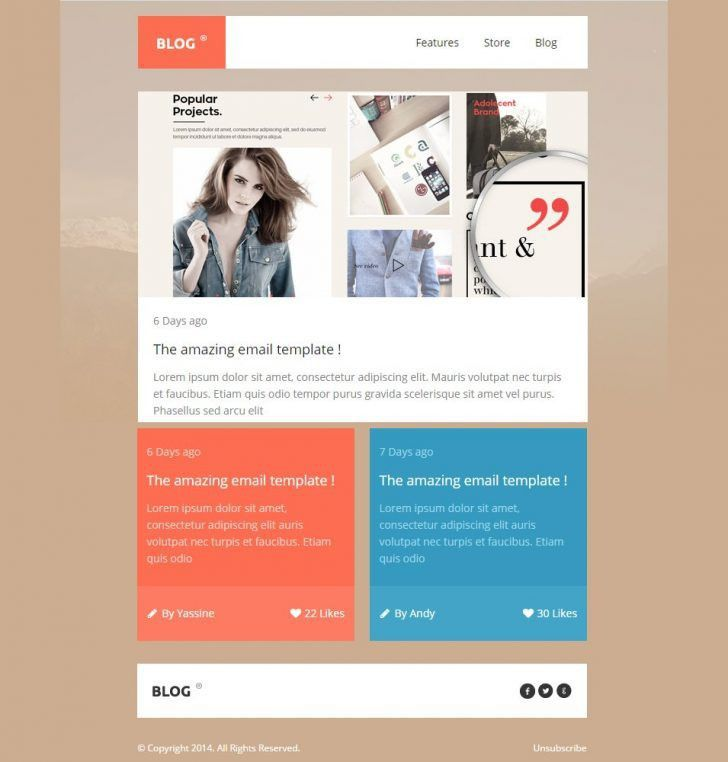 Awesome Example Newsletter Templates | pikpaknews
