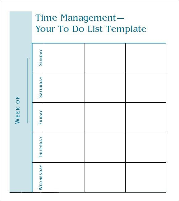 7 Free To Do Task List Templates - Excel PDF Formats