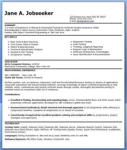 "Software testing <a href=""http://cv.tcdhalls.com/resume-form.html ..."