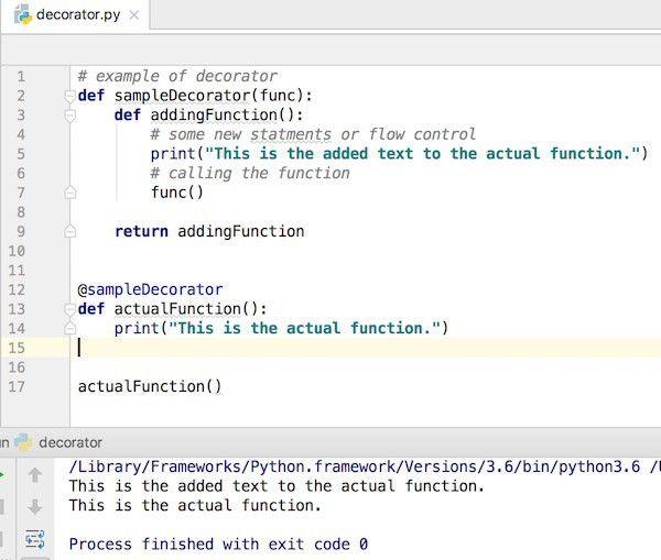 Python Decorator Example - JournalDev