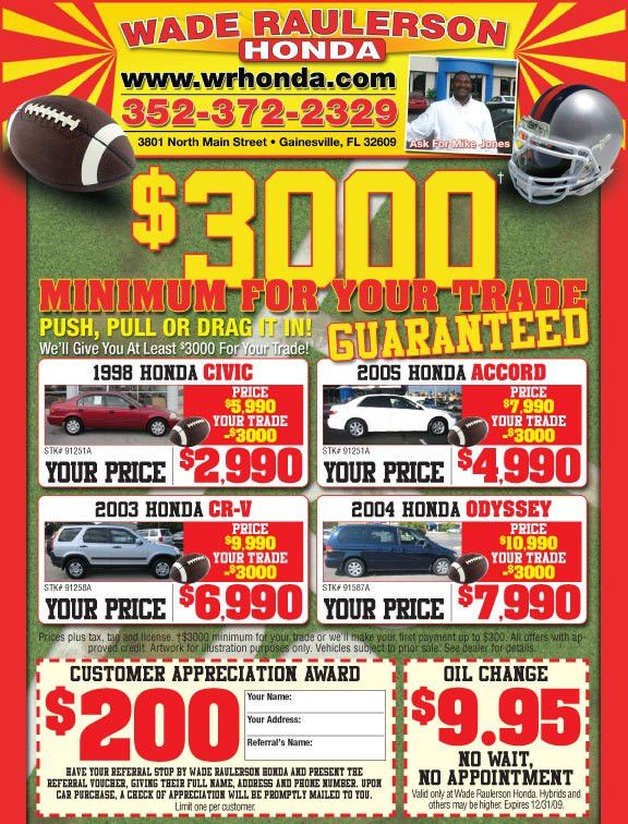 Football Used Car Flyer by DJSin78 on DeviantArt