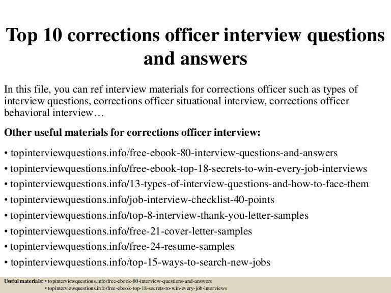 correctional officer resume samples. correctional officer resume ...