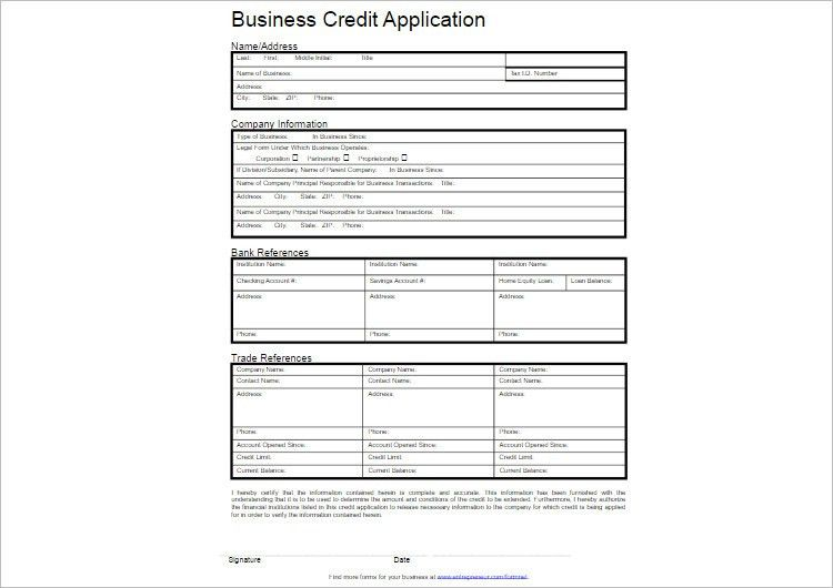 Application Templates For Word | Samples.csat.co