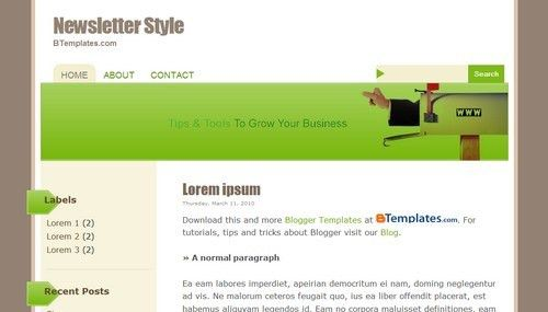 Newsletter Styles Images - Reverse Search