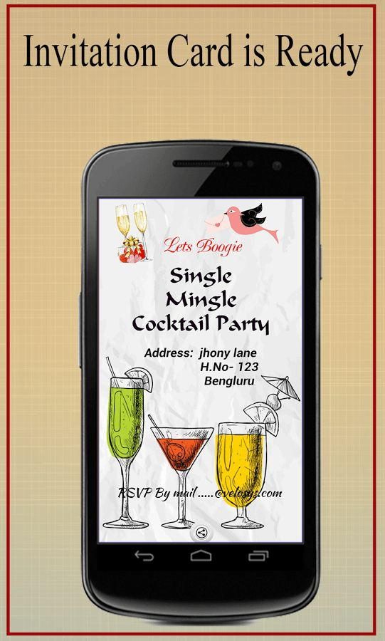 Party Invitation Card Maker - Android Apps on Google Play