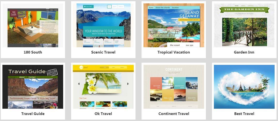 Godaddy Website Templates | Template Design