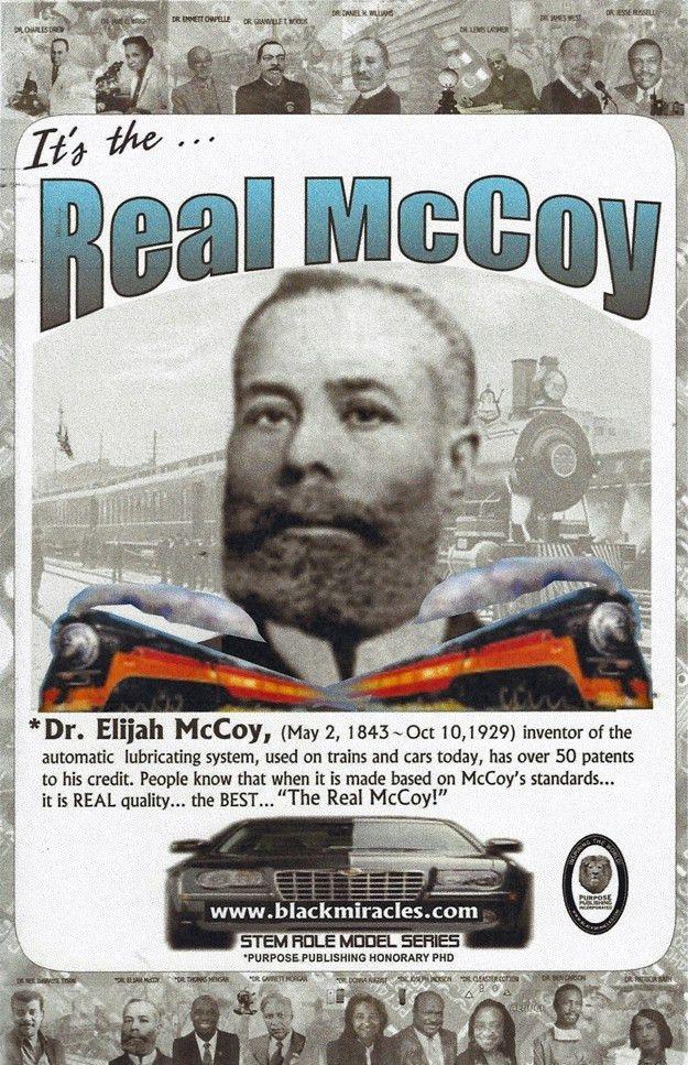Dr. Elijah McCoy Stem Role Model Series Poster