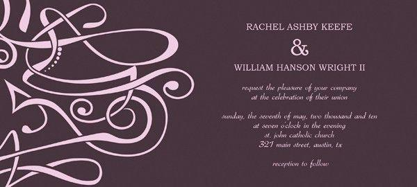 Flash Wedding Invitation Templates – Start building Beautiful Cards