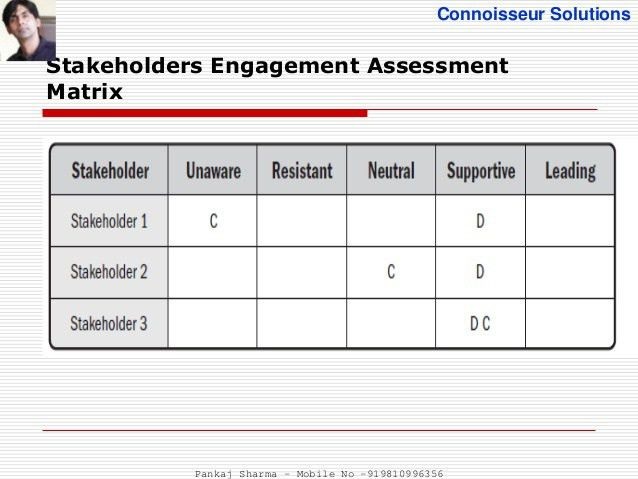 Project Stakeholder Management - PMBOK 5