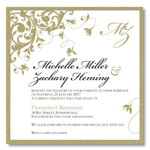 10 best Wedding Invitation Templates images on Pinterest | Wedding ...