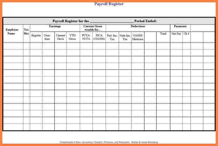 7+ payroll log template | Securitas Paystub