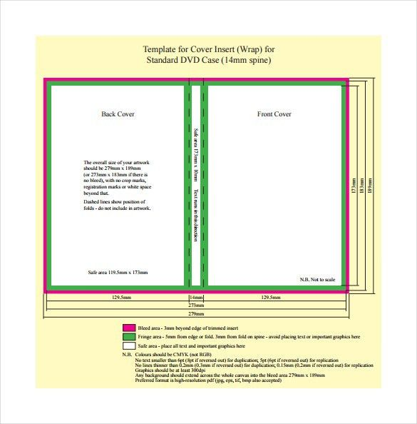 16+ DVD Case Templates | PSD | Free & Premium Templates | Free ...