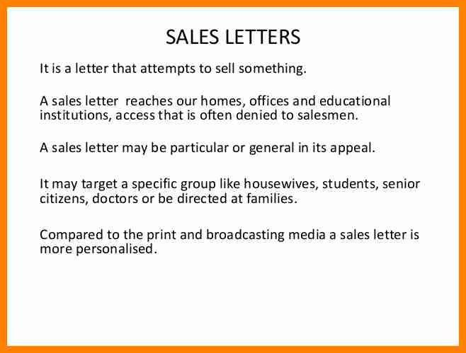 9+ example of Sales Letter full block | buyer resume