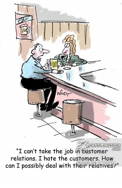 Customer Service Skills Cartoons and Comics - funny pictures from ...