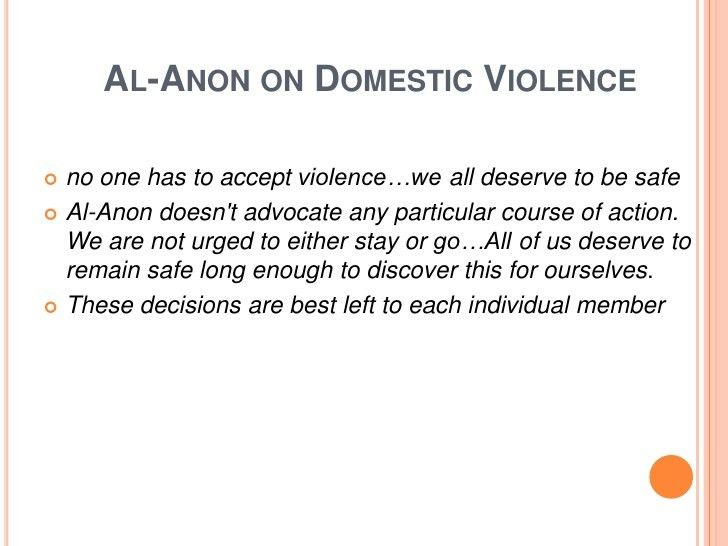The Intersection of Domestic Violence and Substance Abuse- April 2012