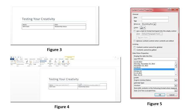 Make Your Own Questionnaire in Microsoft Word 2013