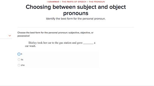 Subject and object pronouns (video) | Khan Academy