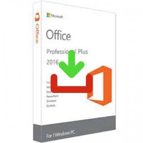 MICROSOFT OFFICE PROFESSIONAL 2016 (windows)