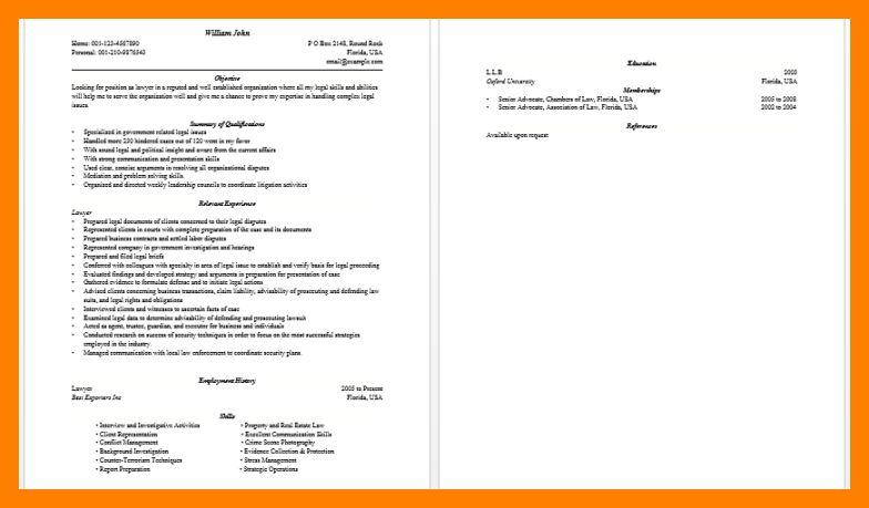 6+ objective for lawyer resume | teller resume