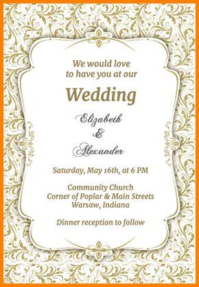 9+ wedding invitations free templates   artist resume