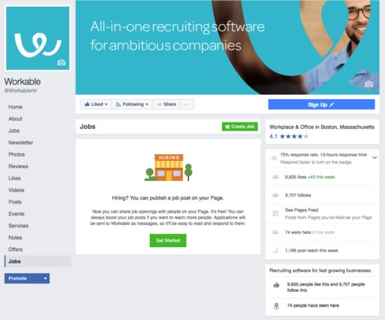 How to Post Jobs on Facebook | Workable