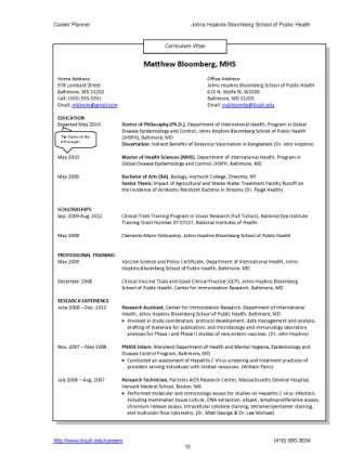 Resumes and CVs - Career Resources - For Students - Career ...