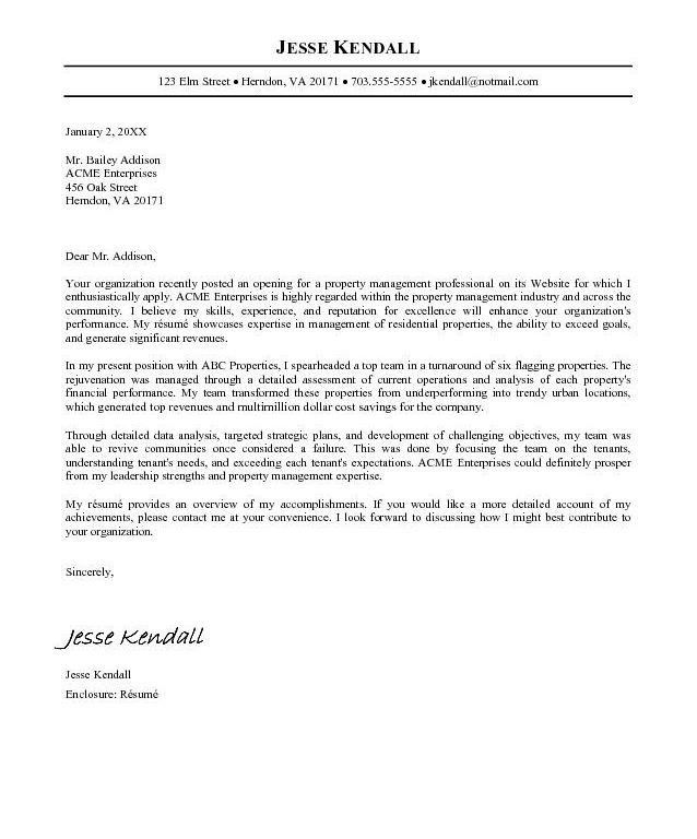 Resumes And Cover Letters Examples. Write A Cover Letter For ...