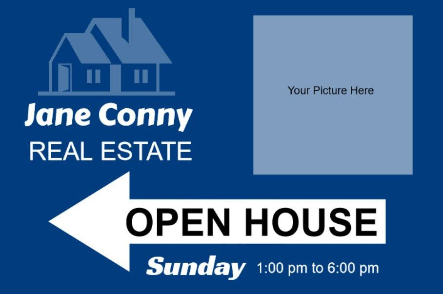Real Estate Sign Template - Contegri.com