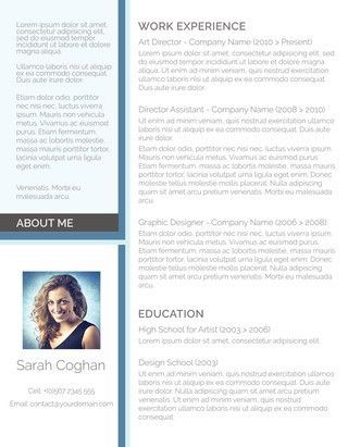 Public Relations Resume Samples (CV) Format For Freshers ...