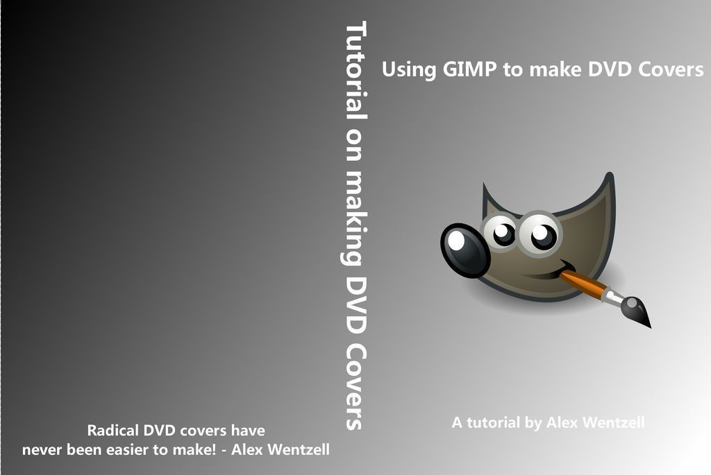 Making a DVD Cover Using GIMP: 5 Steps