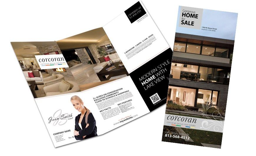 Corcoran Real Estate Flyers | Corcoran Real Estate Flyer Printing