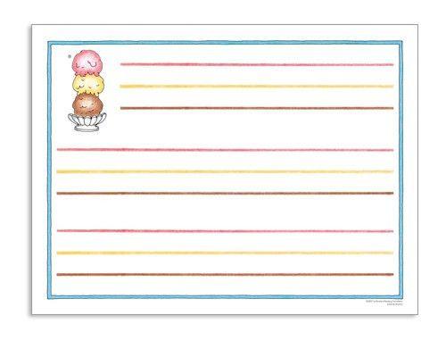 Ice Cream Chart Paper <i>(horizontal)</i></a><br />ISBN: 978-1 ...