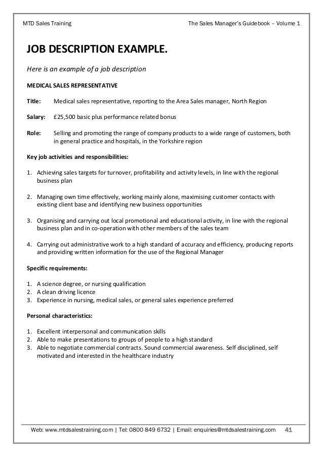Sales Manager's Guidebook Volume 1 - Sales Planning & Target Setting