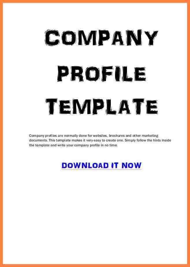 7+ business profile template example | Bussines Proposal 2017