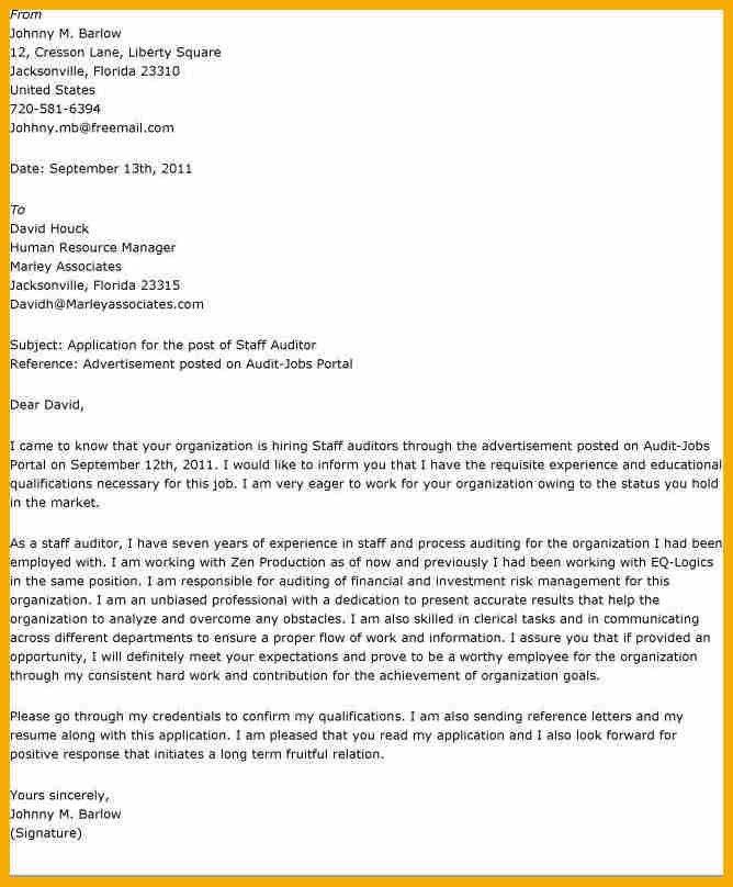 7+ audit cover letter   bursary cover letter