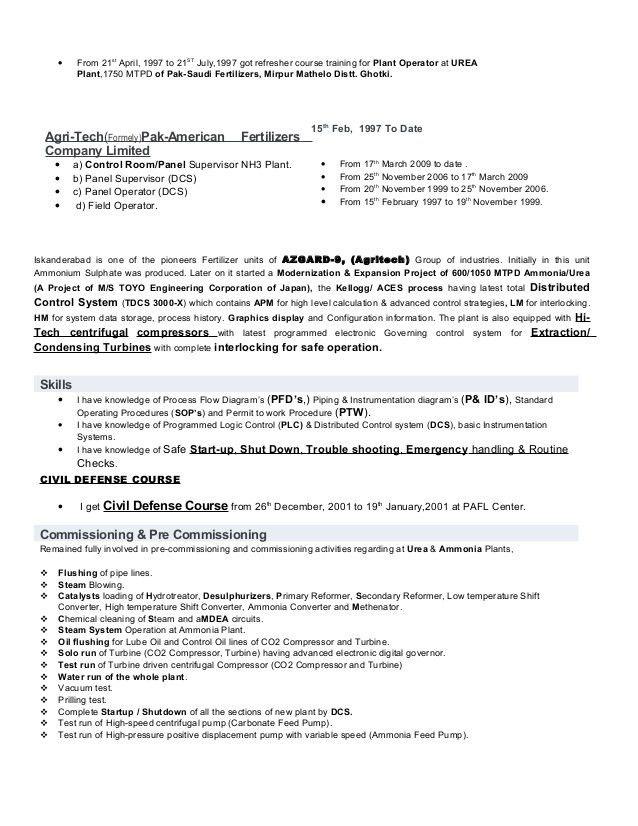 CV MUHAMMAD ZAHID with Skp