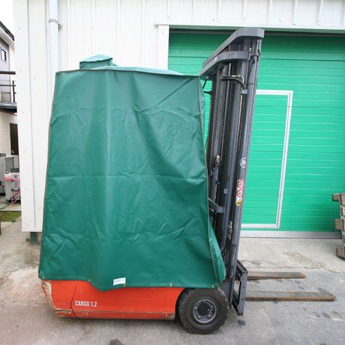 forklift cab cover. heavy duty full forklift cab enclosure cover ...