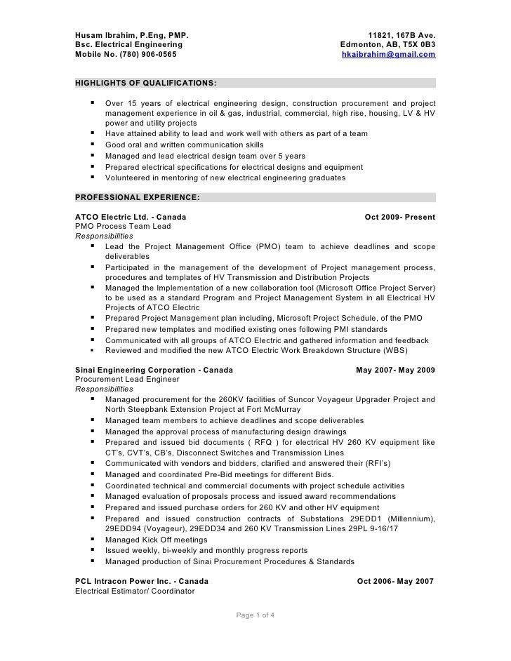 Lofty Idea Detailed Resume 4 Detailed Resume Example - Resume Example