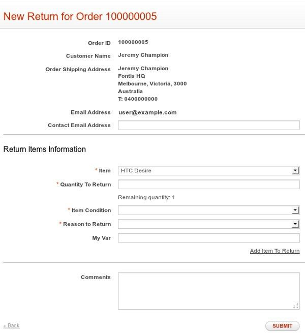 Rma Form Template] Rma Form Template 20 Repair Order Templates ...