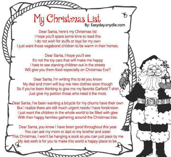 Famous Christmas Poems - Easyday