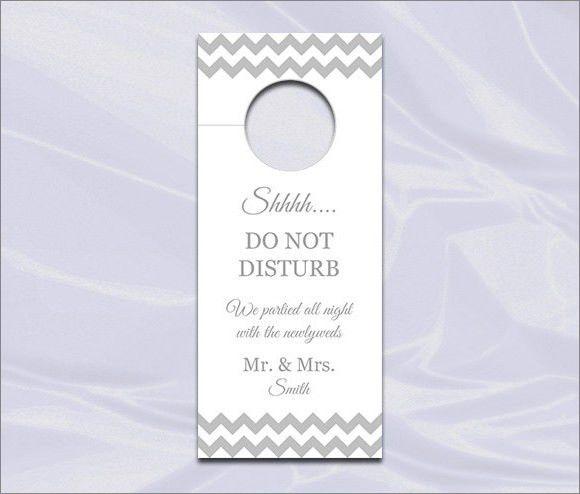12+ Do Not Disturb Door Hangers - PSD, Vector EPS