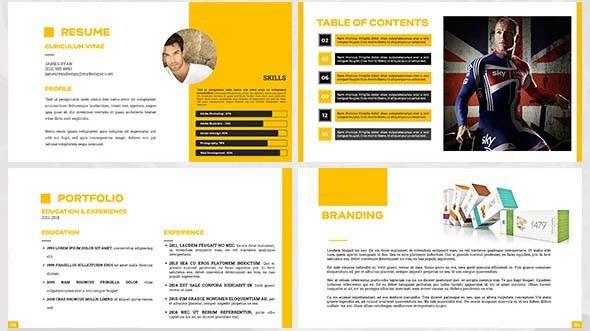 Portfolio design template portfolio design to inspire 17 design 18 cool portfolio powerpoint templates desiznworld pronofoot35fo Choice Image