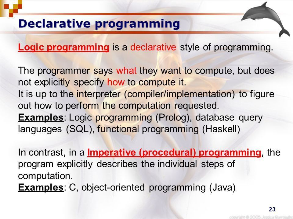 1 Introduction to Logic Programming. 2 Human Logic Humans are ...