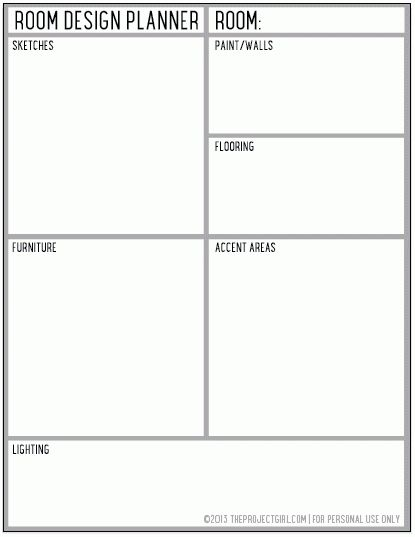 Home Project Planner Template. Home. DIY Home Plans Database