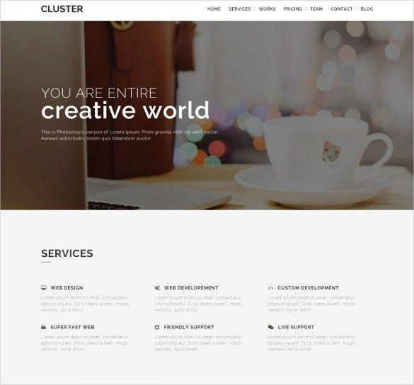 21+ Creative Bootstrap Themes & Templates | Free & Premium Templates