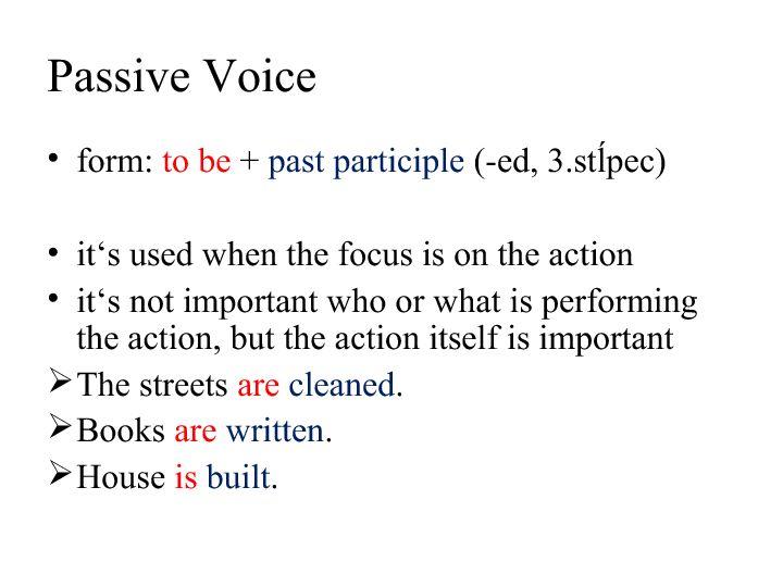 Voice Presentation