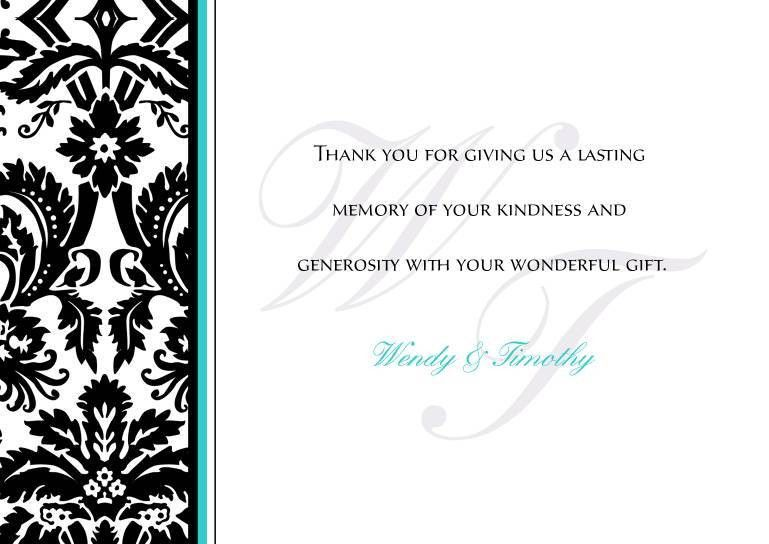 Thank You Card: Images Idea Wedding Thank You Cards Template Thank ...
