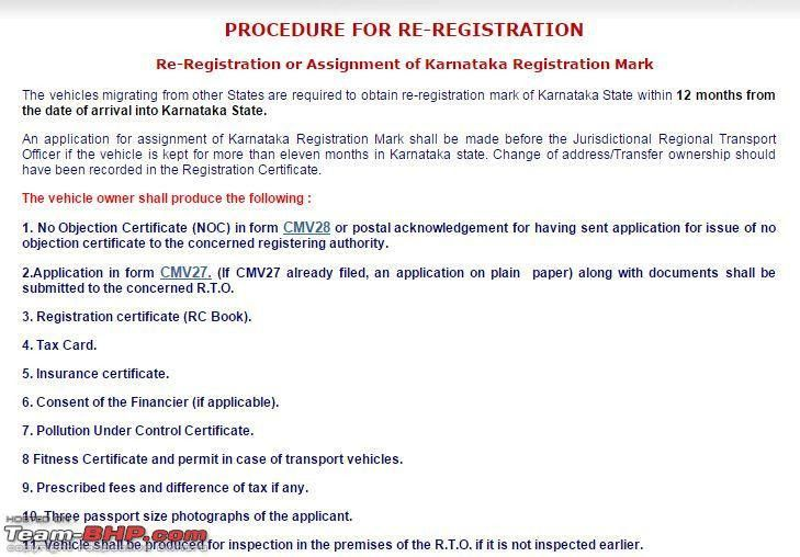 Guidelines: Car Ownership Transfer in Bangalore - Page 2 - Team-BHP