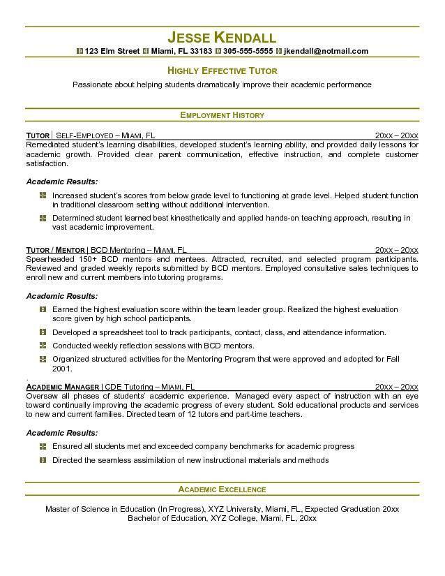 Resume Examples For Teachers. Sample New Teacher Resume Resume For ...